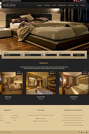 hazır otel sitesi web tasarımı